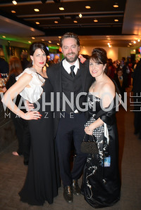 Melissa Fitzgerald, Brent Roske, Shelley Cohen, Chasing the Hill,  The Inaugural Green Ball on Sunday, January 20th , 2013. Newseum.