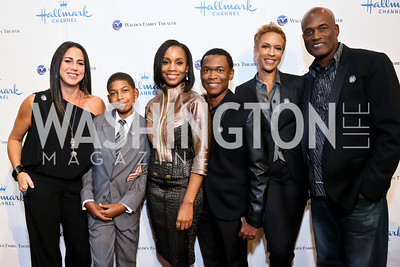 "Nikki Silver, Bryce Clyde Jenkins, Anika Noni Rose, Harrison Knight, Tonya Lewis Lee, Kenny Leon. Photo by Tony Powell. Hallmark Channel screening of ""The Watsons Go to Birmingham."" Newseum. September 17, 2013"