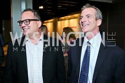 "Walden Media Founder Michael Flaherty and brother Chip Flaherty.  Photo by Tony Powell. Hallmark Channel screening of ""The Watsons Go to Birmingham."" Newseum.JPG"