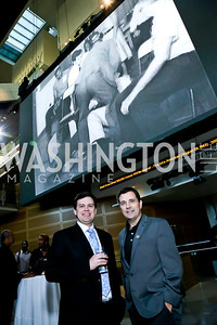 "Michael Leaser, Brian Wells. Photo by Tony Powell. Hallmark Channel screening of ""The Watsons Go to Birmingham."" Newseum. September 17, 2013"
