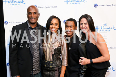 "Kenny Leon, Anika Noni Rose, Harrison Knight, Nikki Silver. Photo by Tony Powell. Hallmark Channel screening of ""The Watsons Go to Birmingham."" Newseum. September 17, 2013"
