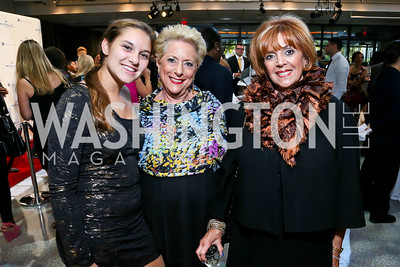 "Paige Silver, Susan Kochman, Sheila Kliger. Photo by Tony Powell. Hallmark Channel screening of ""The Watsons Go to Birmingham."" Newseum. September 17, 2013"