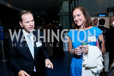 "Ed Georger, Susanne McAvoy. Photo by Tony Powell. Hallmark Channel screening of ""The Watsons Go to Birmingham."" Newseum. September 17, 2013"