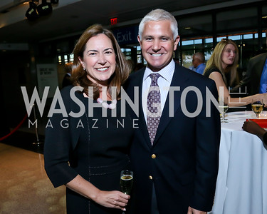"""Lee Satterfield and Patrick Steele. Photo by Tony Powell. Hallmark Channel screening of """"The Watsons Go to Birmingham."""" Newseum. September 17, 2013"""