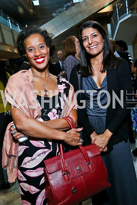 "Xina Eiland, Tracy Villemarette. Photo by Tony Powell. Hallmark Channel screening of ""The Watsons Go to Birmingham."" Newseum. September 17, 2013"
