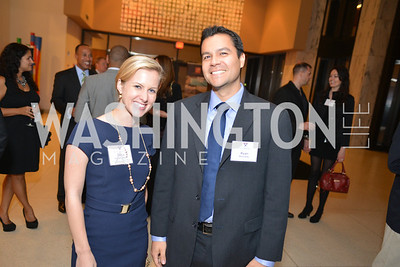 Gena Haugen Stern, Ryan Kennedy,  Harvard Business School hosts a reception at the French Embassy.  October 23, 2013.  Photo by Ben Droz.