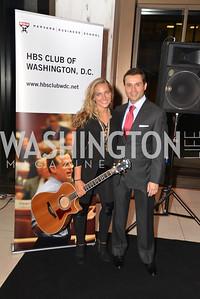 Lauren JenkinsAntonio Alves, Harvard Business School hosts a reception at the French Embassy.  October 23, 2013.  Photo by Ben Droz.