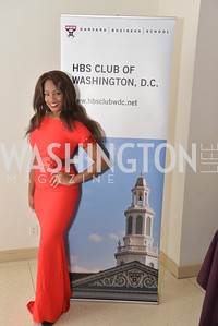 Sarah Hillware - America's Miss DC 2012, Harvard Business School hosts a reception at the French Embassy.  October 23, 2013.  Photo by Ben Droz.