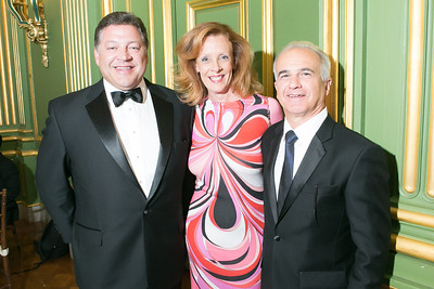 Rep. Bill Shuster, Sandra DePoy, Nick Calio.  Photo by Alfredo Flores. Heart's Delight Vintner's Dinner. Andrew W. Mellon Auditorium. May 3, 2013