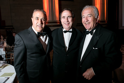 Bijan Jabbari, Bernard Burtschy, Alfred Tesseron. Photo by Alfredo Flores. Heart's Delight Vintner's Dinner. Andrew W. Mellon Auditorium. May 3, 2013