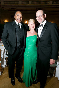 Haywood Nobles, Fannie Gray, Tim Gray. Photo by Alfredo Flores. Heart's Delight Vintner's Dinner. Andrew W. Mellon Auditorium. May 3, 2013