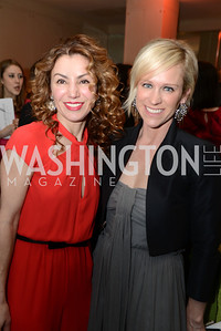 Severina Mladenova, Elizabeth Miller,   Heroes Curing Childhood Cancer Gala, at the Four Seasons.  Saturday, February 23, 2013. Photo by Ben Droz.