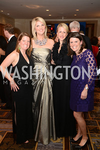 Kiersten Willis, Alison Morrison, Becky Shaffer, Allison Jacobs, Heroes Curing Childhood Cancer Gala, at the Four Seasons.  Saturday, February 23, 2013. Photo by Ben Droz.