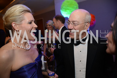 Elizabeth Blalack, Dr. Kurt Newman,  Heroes Curing Childhood Cancer Gala, at the Four Seasons.  Saturday, February 23, 2013. Photo by Ben Droz.