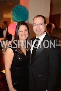 Victoria Sevcik, Jesse Sevcik,  Heroes Curing Childhood Cancer Gala, at the Four Seasons.  Saturday, February 23, 2013. Photo by Ben Droz.