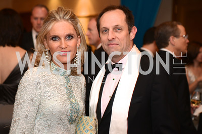 Amy Porter Stroh, Richard Riddell, Heroes Curing Childhood Cancer Gala, at the Four Seasons.  Saturday, February 23, 2013. Photo by Ben Droz.