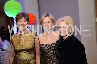 Sara Machir, Alison Newman, Diana Goldberg,  Heroes Curing Childhood Cancer Gala, at the Four Seasons.  Saturday, February 23, 2013. Photo by Ben Droz.