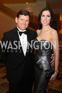Bret Baier, Amy Baier, Heroes Curing Childhood Cancer Gala, at the Four Seasons.  Saturday, February 23, 2013. Photo by Ben Droz.