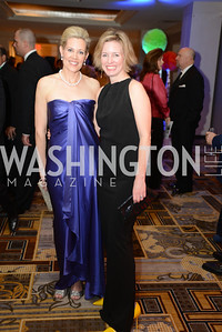 Elizabeth Blalack, Catherine Kaplan,  Heroes Curing Childhood Cancer Gala, at the Four Seasons.  Saturday, February 23, 2013. Photo by Ben Droz.