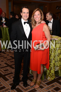 Chip Rettew, Michele Rettew,  Heroes Curing Childhood Cancer Gala, at the Four Seasons.  Saturday, February 23, 2013. Photo by Ben Droz.
