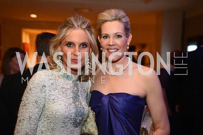 Amy Stroh Porter, Elizabeth Blalack,  Heroes Curing Childhood Cancer Gala, at the Four Seasons.  Saturday, February 23, 2013. Photo by Ben Droz.