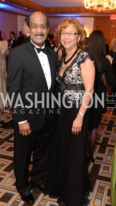Ike Leggett, Catherine Leggett, Heroes Curing Childhood Cancer Gala, at the Four Seasons.  Saturday, February 23, 2013. Photo by Ben Droz.