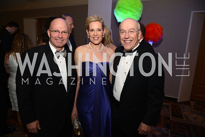 Lee Blalack, Elizabeth Blalack , Dr. Kurt Newman,  Heroes Curing Childhood Cancer Gala, at the Four Seasons.  Saturday, February 23, 2013. Photo by Ben Droz.