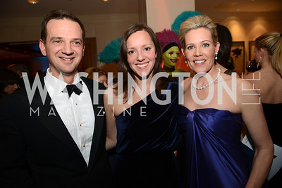 Dr. Chris Cannova, Sarah Cannova, Elizabeth Blalack, Heroes Curing Childhood Cancer Gala, at the Four Seasons.  Saturday, February 23, 2013. Photo by Ben Droz.