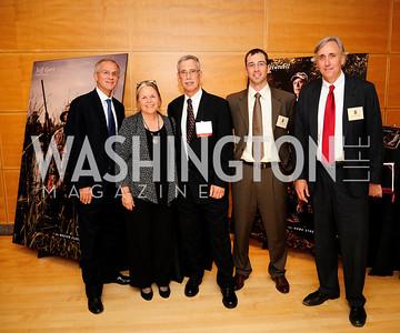 Steve  Moyer,Anna Hutzell,Doug Hutzell,Keith Corley, Whit Fosburgh,September 19,2013,Heroes in Conservation Awards Gala,Kyle Samperton