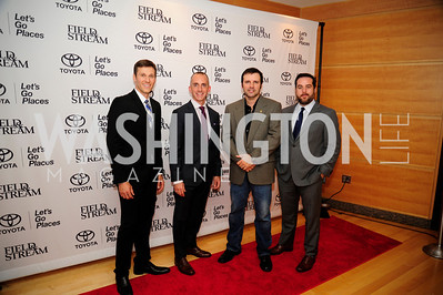 Jim Baudino Gregory Gatto,Mark Wills,Anthony Licata,September 19,2013,Heroes in Conservation Awards Gala,Kyle Samperton