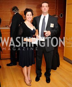 Allison Burchers,Kevin Anderson ,September 19,2013,Heroes in Conservation Awards Gala,Kyle Samperton