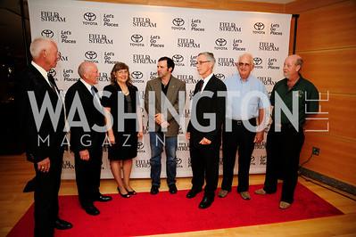 Dave Sweets,Steve Sams,Laura McIver,Mark Wills,Doug Hutzell,Gene Wright,Jeff Gorr,September 19,2013,Heroes in Conservation Awards Gala,Kyle Samperton