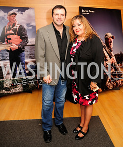 Mark Wills,Elaine Hackett,September 19,2013,Heroes in Conservation Awards Gala,Kyle Samperton