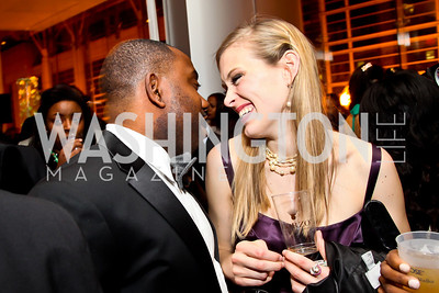 Clifton Granby, Elizabeth Flock. Photo by Tony Powell. Hip Hop Inaugural Ball. Harman Center. January 20, 2013