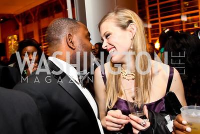 Clifton Granby, Elizabeth Flock. Photo by Tony Powell. Hip Hop Inaugural Ball. Harman Center. January 20, 2013