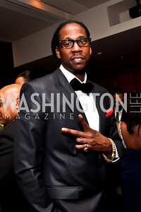 Hip hop recording artist 2 Chainz. Photo by Tony Powell. Hip Hop Inaugural Ball. Harman Center. January 20, 2013
