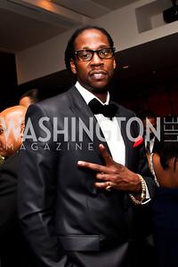 Hip hop recording artist 2 Chainz. Photo by Tony Powell. Hip Hop Inaugural Ball. Harman Center. January 20, 2013