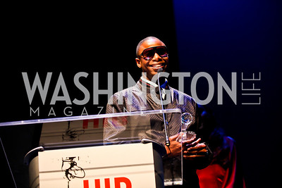 Lifetime Achievement Award Recipient Doug E. Fresh. Photo by Tony Powell. Hip Hop Inaugural Ball. Harman Center. January 20, 2013