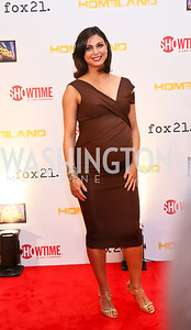 Morena Baccarin. Photo by Tony Powell. Homeland Season 3 Screening. Corcoran Gallery. September 9, 2013