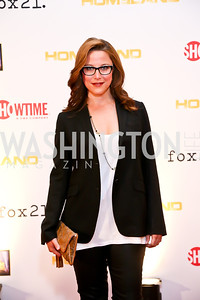 Crossfire's S.E. Cupp. Photo by Tony Powell. Homeland Season 3 Screening. Corcoran Gallery. September 9, 2013