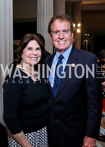 Billie and Rep. Phil Gingrey. Photo by Tony Powell. Homeland Season 3 Screening. Corcoran Gallery. September 9, 2013