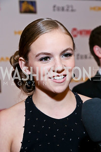 Morgan Saylor. Photo by Tony Powell. Homeland Season 3 Screening. Corcoran Gallery. September 9, 2013
