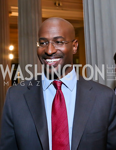 CNN Crossfire's Van Jones. Photo by Tony Powell. Homeland Season 3 Screening. Corcoran Gallery. September 9, 2013