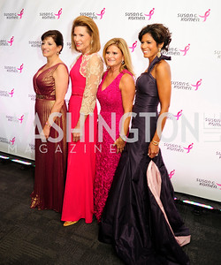 Judy Salerno,Nancy Brinker,Melissa Maxfield,Zoraida Sambolin,September 20,2013,Honoring the Promise,Susan G.Komen Gala ,Kyle Samperton