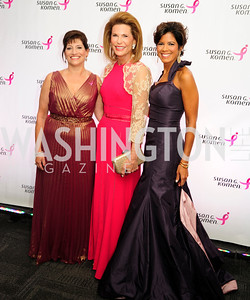 Judy Salerno,Nancy Brinker,Zoraida Sambolin,September 20,2013,Honoring the Promise,Susan G.Komen Gala ,Kyle Samperton