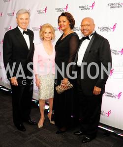 Stuart Bernstein,Wilma Bernstein,Marcia Jackson,Alphonso Jackson,September 20,2013,Honoring the Promise,Susan G.Komen Gala ,Kyle Samperton