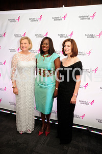 Susan Ford Bales,Olufunmilayo Olopade,Victoria Reggie Kennedy,September 20,2013,Honoring the Promise,Susan G.Komen Gala ,Kyle Samperton