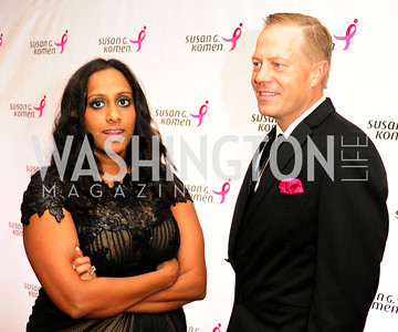 Chandini Portteus,David Dawson,September 20,2013,Honoring the Promise,Susan G.Komen Gala ,Kyle Samperton