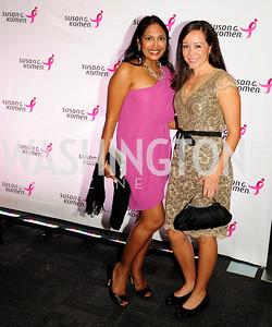 Avamee Patel.Melinda Wisnoski,September 20,2013,Honoring the Promise,Susan G.Komen Gala ,Kyle Samperton