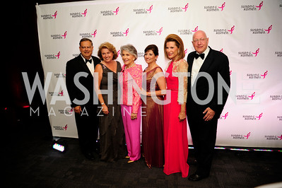 Spencer Abraham,Jane Abraham,Marla Custard,Judy Salerno,Howard Bernick,September 20,2013,Honoring the Promise,Susan G.Komen Gala ,Kyle Samperton